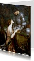 Kunstkaart van John Waterhouse. Lamia
