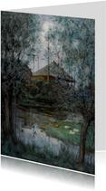 Kunstkaart van Piet Mondriaan. Hooiberg