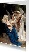kunstkaart William-Adolphe Bouguereau. Lied van de engelen