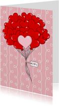 Liefde Harten I LOVE U - TbJ
