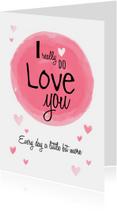 Liefdeskaart ... echte liefde