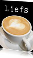 Liefs Cappuccino - Hartje