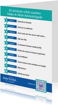 Make-A-Wish 10 adviezen crisis coaches Adviesbrigade
