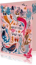 Mercats and Caticorns verjaardagskaart