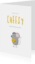 Moederdag cheesy met muisje en kaas