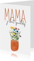 Moederdag | Mama je bent geweldig