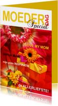 Moederdagkaart Cover magazine 2