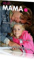 Moederdagkaart Cover magazine 3