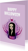 Morticia Illustratie - KO
