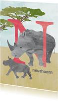 N van neushoorn