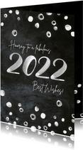 Neujahrskarte 2022 im Tafel-Look