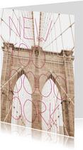 New York typografie trend kaart