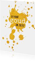 Nieuwjaar Ga voor goud