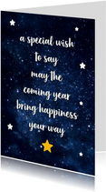 Nieuwjaar - happiness your way