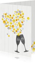 Nieuwjaar Hartverwarmende Proost 2020