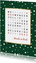 Nieuwjaar woordzoeker puzzel