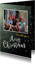 Nieuwjaars We wish you a Merry Christmas & a Happy New Year