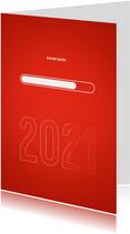 Nieuwjaarskaart 2021 loading