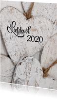Nieuwjaarskaart Liefdevol 2020
