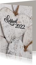 Nieuwjaarskaart Liefdevol 2022