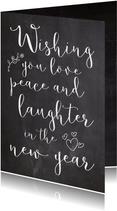 Nieuwjaarskaart wishing - SK