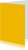 Oker geel dubbel staand