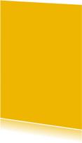 Oker geel enkel staand