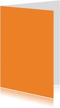 Oranje staand dubbel