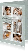 Osterkarte Bilderreihe eigene Fotos