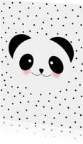 Panda kaartje - WW