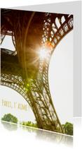 Paris, t'aime