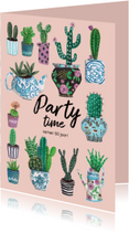 Party Time Cactus Trendy