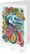 Pauw Bloemen Vrolijk Verjaardag