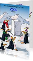penguins verjaardag 2 met koelkast