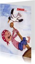 Piraat Kinderkaart