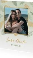 Postkarte aus dem Urlaub mit eigenem Foto