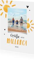 Postkarte Urlaub Foto & Sonne
