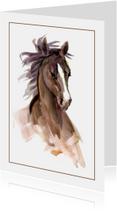 Prachtige Kaart Paard
