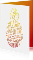Quote pineapple