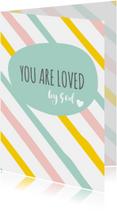 Religie kaarten Christeljk You are loved