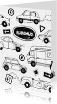 Rijbewijs autootjes en verkeer