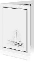 Rouw Bedankt - illustratie schip
