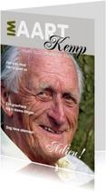 Rouwkaart Eigen foto Cover Magazine