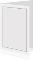 Rouwkaart met zwarte rouwrand