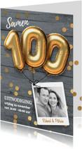 Samen 100 jaar uitnodiging