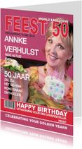 Sarah Verjaardag 50 jaar Feest