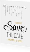 Save the Date Hartjes Slinger SG