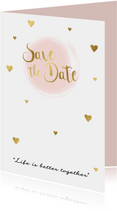 Save the date kaart 3 - WW