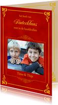 Sinterklaas boek met eigen foto