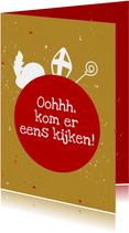 Sinterklaas in je schoentje
